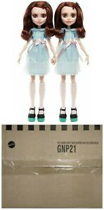 2020 Monster High THE SHINING GRADY TWINS collector doll set~MIMB SEALED shipper