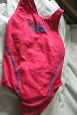 Girl speedo endurance pink swimsuit age 11-12 years