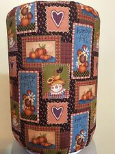 HAPPY FALL SCARECROW HEART 5 GALLON WATER COOLER BOTTLE COVER KITCHEN DECORATION