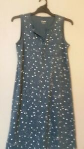 Sussan Size XS Sleepwear Nightie 100% Cotton Buttons Pocket Excellent Used