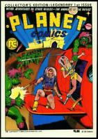 PLANET COMICS #1, VF/NM, Fiction House / Pacific reprint, 1984, Blue Dolphin
