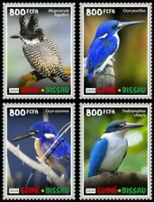 Guinea-Bissau - 2020 Kingfisher Birds - Set of 4 Stamps - GB200208c