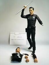 "Terminator Genisys T-1000 Police Disguise 7"" Action Figure Neca"