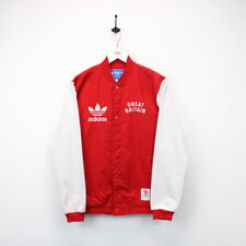 ADIDAS ORIGINALS Baseball Bomber Jacket Team GB London Olympics 2012 Red | Small