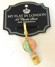 Brighton My Flat in London Hot Air BALLOON OVER PARIS Handbag Charm Crystals NWT