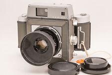 Mamiya Press, Sekor 90mm f/3.5 Lens, 6x9 Film Holder