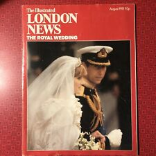 Illustrated London News August 1981 Lady Diana, Royal Wedding, Princess Vintage