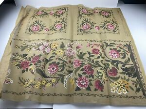 DMC Needlepoint Tapestry Canvas Floral Butterfly 38in X 15in Rome 10 Count