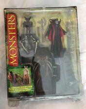 DRACULA McFarlane Monsters Series 1 Playset Action Figure 1997 Vampire NewOnCard