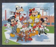 G792. Tanzania - MNH - Cartoons - Disney's - Workers