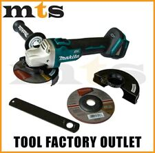 "Makita 18V Brushless Angle Grinder Cordless 125mm 5"" XAG04 / DGA504Z"