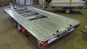 Pongratz L-AT 400 kippbarer Autotransporter 2600 kg, Eigengewicht 530 kg NEU !!!