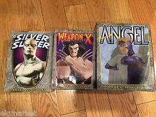 3 BOWEN DESIGNS X MARVEL Mini-Bust Busts WEAPON X , ANGEL, SILVER SURFER NEW