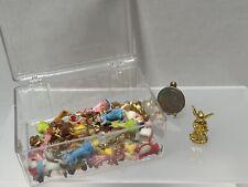 Vintage Tiny Christmas Decor Angels Santa's Reindeer Dollhouse Miniature 1:12