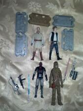 Star Wars action figures lot of 4 loose 3.75 inch dated 2013 plus accessories