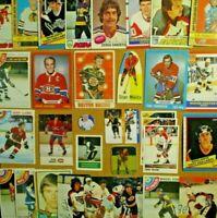 1970-71/80's+ NHL Lot [] Gretzky/Lemieux/Rocket Richard/Clarke/Esposito/Mikita++