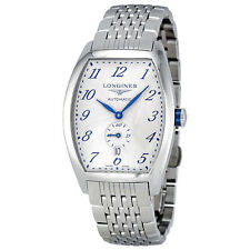 Longines Evidenza Automatic Silver Dial Stainless Steel Mens Watch L2.642.4.73.6