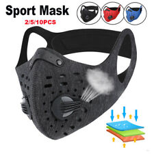 5 Types Sports Cycling Face Mask Reusable Washable Breathable Mouth Cover Util