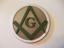 Breting Designs Mason Masonic Freemason Office Door Wall Mount Sign Symbol