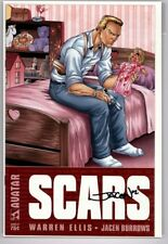 Scars Sampler 2002 #0 Signed by Jacen Burrows COA Included  Avatar Comics
