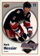 2009-10 Upper Deck Hockey Heroes Mark Messier #HH25 Mark Messier Rangers