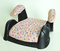 Used Cosco Juvenile Highrise Backless Booster Car Seat 30-100lbs Flowers BABY