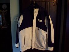 WILLIAMS F1 COAT IN MEDIUM WITH HOOD INNER AND OUTER ZIPPED POCKETS