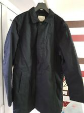 Selected Homme Trench Jacket INDIGO, Black, XL -  NWT