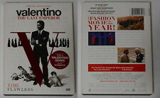 Valentino  The Last Emperor  U.S. dvd