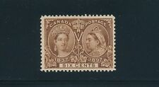 Canada (1897) QUEEN VICTORIA JUBILEE #55; UNUSED VF; **PRETTY STAMP**; CV $230