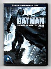 COFFRET 2 DVD / BATMAN THE DARK KNIGHT RETURNS / DC COMICS COMME NEUF (ZONE 2)