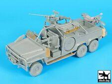 Black Dog 1/35 Australian SASR Land Rover 6x6 LRPV w/Motorbike [Full kit] T35189