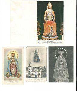 Lotto n. 4 Santini Vergine SS. di Piedigrotta (4328-4331) Come da foto