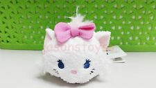 3.5'' Disney Tsum Mini Marie Cat Doll Stuffed Plush Toy With Chain Kids Gift