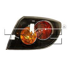 2004-2006 Mazda 3 tail lights with trunk/hatch lights. Fits hatchback or sedan.