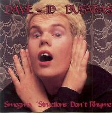 Dave-id Busaras Smegma 'Structions Don't Rhyme
