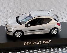 Peugeot 207 silber-Metallic, 1:43, NOREV