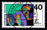 864 Vollstempel gestempelt EST Ersttag mit Gummi BRD Bund Deutschland 1975