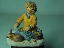 Christine Haworth FOREST FRIENDS Figurine Paintbox Poppets Leonardo Collection