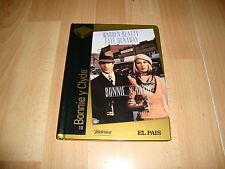 BONNIE & CLYDE PELICULA EN DVD + LIBRO CON WARREN BEATTY Y FAYE DUNAWAY