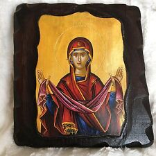 Certified Traditional Byzantine Icon Blessed at Mount Athos