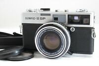 【EXC+++!!】Olympus 35 SP Rangefinder Film Camera /G.Zuiko 42mm F1.7 Lens #3261