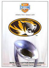2014 AT&T Cotton Bowl Classic DVD Missouri vs Oklahoma State