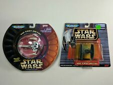 Lot of 2 Vintage 1996 Star Wars Micro Machines Die-Cast Toys by Galoob. NEW
