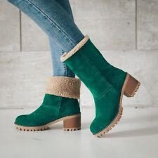 Big Size Women's Boots Women's Winter Shoes Women's Warm fur Snow Boots
