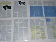 Krell KSA-300s Amplifier & KRC Preamp Review 1994, 8 pages, Specs, Info