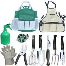 11Pcs Garden Tools Set Stainless Steel Gardening Tools Kit with Trowel Pruner