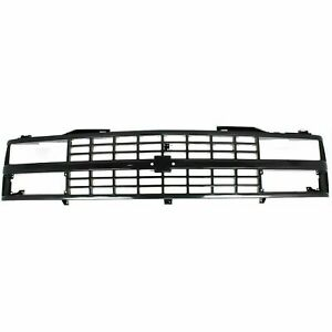 New GM1200228 Grille Black Shell & Insert For Chevy CK Series 1988-1993