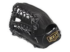 ZETT Pro Elite 13 inch LHT Black Baseball Softball Outfielder Glove +BONUS