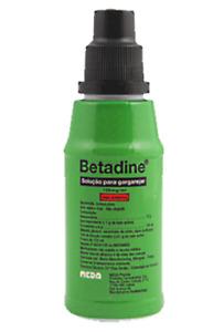 Betadine MouthWash Gargle Solution 125ml Antiseptic Oral Solution ORIGINAL